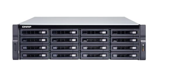 QNAP TS-1683XU-RP-E2124-16G Diskless 16-BAY NAS Intel® Xeon® E-2124 quad-core 3.3 GHz 64-bit x86 16 GB UDIMM DDR4 ECC16 x 3.5-inch 3yrs warranty