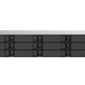 QNAP TS-1253DU-RP-4G 12 Bay NAS  Intel® Celeron® J4125 quad-core 2.0 GHz 4G DDR4 Hot-swappable 2x2.5GbE 2xSODIMM slot 2xUSB3.2 Redundant PSU 3YR WTY