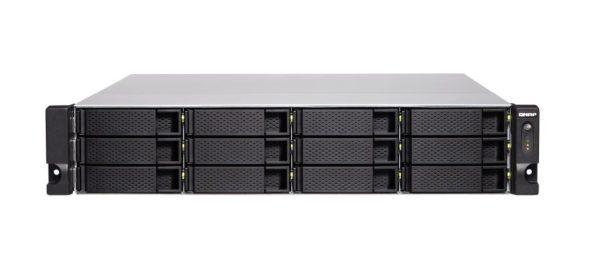 QNAP TS-1886XU-RP-D1602-4G 18 Bay NAS Intel® Xeon® D-1622 quad-core 2.60 GHz 4GB DDR4 ECC Hot-swappable 4x4GigaLan 2x10GbE 4xPCIe 2USB3.2