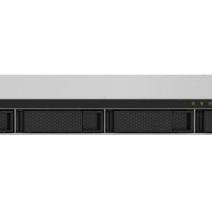 QNAP TS-432PXU-RP-2G Bay NAS AL324 64-bit ARM® Cortex-A57 1.7GHz 2 GB DDR4 Hot-swappable 2x2.5GbE 2x10GbE SFP+ 1U 1xPCIe Gen 4xUSB3.2 3YR WTY RP