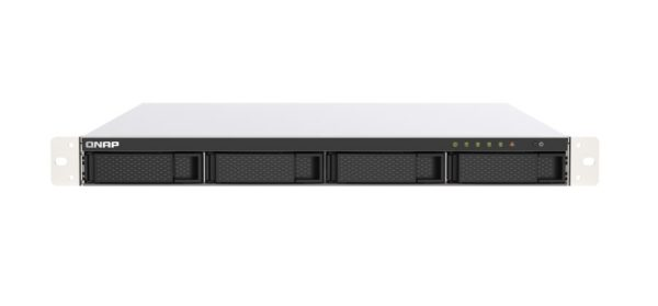 QNAP TS-453DU-4G 4 Bay NAS Intel® Celeron® J4125 quad-core 2.0 GHz 4 GB SO-DIMM DDR4 Hot-swappable 2x2.5GbE 1xPCIe Gen 2 x2 2xUSB 3.2 3 yrs warty