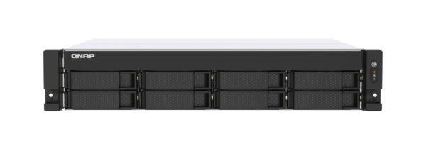 QNAP TS-853DU-RP-4G 8 Bay NAS Intel® Celeron® J4125 quad-core 2.0 GHz 4 GB RAM SO-DIMM DDR4 Hot-swappable 2x2.5GbE 2xUSB 3.2 Redundan power 2U 3yrs