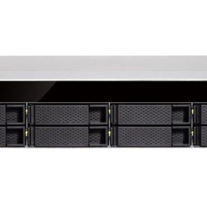 QNAP TS-883XU-E2124 8 Bay NAS Intel® Xeon® E-2124 quad-core 3.3 GHz processor 8GB DDR4 Hot-swappable 4xGE 2x10GbE SFP+ 4xUSB 3.2 2U Rackmount