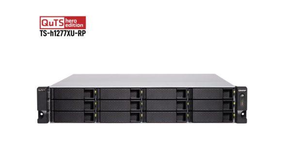 Qnap 12-Bay NAS AMD Ryzen™ 7 3700X 8-core/16-thread 3.6 GHz 32G DDR4 Hot-swappable 2x10GbE 4xPCIe Slot 2xUSB3.2Gen2 2U 5 YR WTY