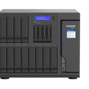 QNAP TVS-h1688X-W1250-32G 16 Bay NAS Intel® Xeon® W-1250 6-core 3.3 GHz 32GB ECC DDR4 Hot-swappable 2xM.2 4x2.5GbE 2 x10GBASE-T 3 xPCIe 3xUSB3.2 3yr