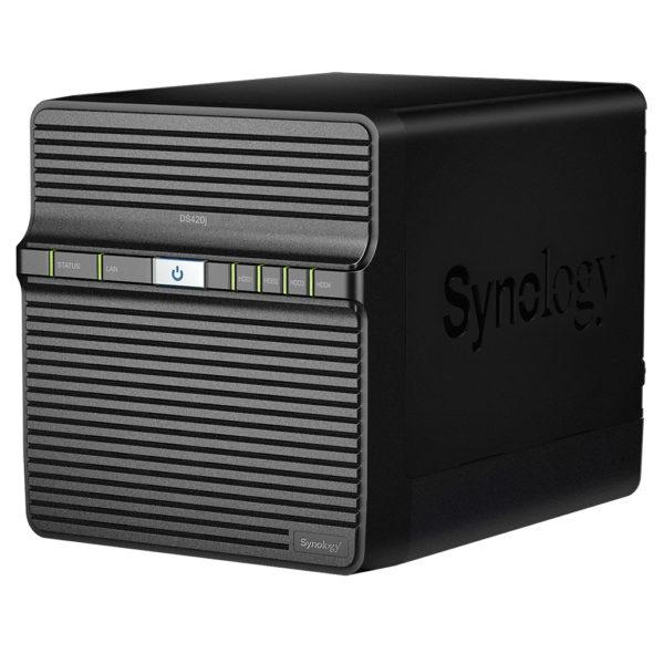 Synology DiskStation DS420j 4-Bay 3.5' Diskless 1xGbE NAS