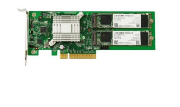 Synology M2D18 Adapter Card supporting M.2 SATA SSD in selected Synology NAS Models