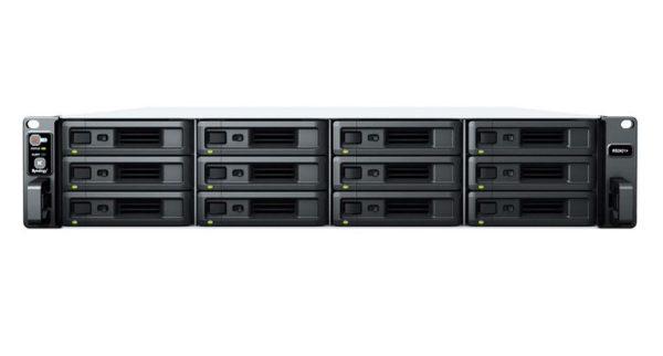 Synology RackStation RS2421RP+ 12 Bay AMD Ryzen 4GB DDR4 ECC UDIMM 4xRJ-45 1GbE 2xUSB3.2 1xGen3 x8 slot 2U WOL/W Redudant power 3YR WTY