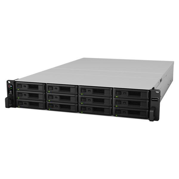 Synology RackStation RS3621RPxs 12-Bay Intel Xeon D-1531 8 GB DDR4 Hot Swappable 4x1GbE 2xUSB 3.2 2 x Gen3 x8 slots 2U Redundant Power Supply 5YR WTY