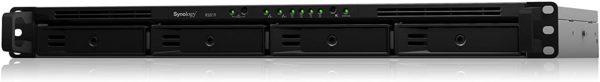 Synology RackStation RS819 4-Bay NAS Realtek RTD1296 4-core 1.4 GHz 2 GB DDR4 non-ECC Hot Swappable 2xRJ-45 1GbE LAN 2xUSB 3.0 1 U 3yrs wty