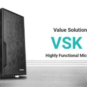 Antec VSK10 mATX with True 550w 80+ 85% Efficiency PSU