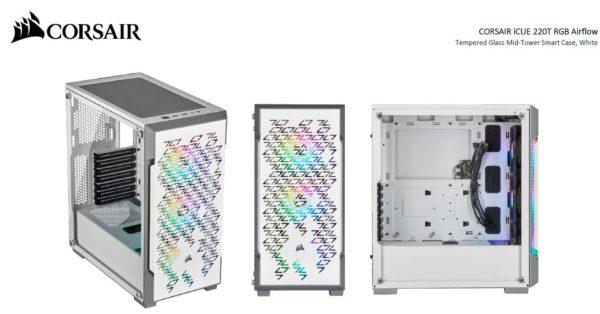 Corsair iCUE 220T RGB Airflow Smart ATX