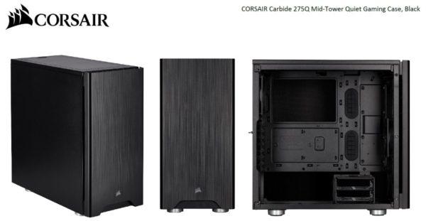 Corsair Carbide Series 275Q Mid-Tower Quiet ATX Case