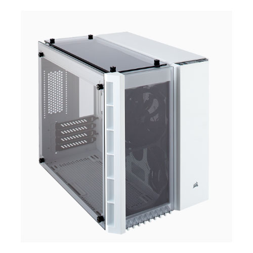 Corsair Crystal Series 280X 3 Sided Tempered Glass Micro-ATX Case