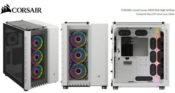 Corsair Crystal Series 680X RGB ATX High Airflow