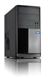 Casecom CM13 Black mATX w/550W 1x USB3.0+1xUSB2.0