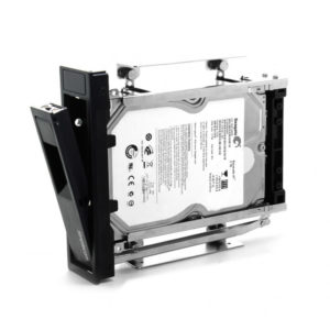 Simplecom SC314 Internal 5.25' Bay Mobile Rack 3.5' SATA HDD Backplane Enclosure