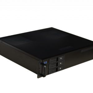 TGC Rack Mountable Server Chassis 2U 380mm Depth