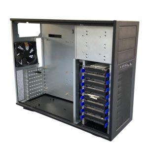 TGC Tower Server Chassis 4U 555mm Depth