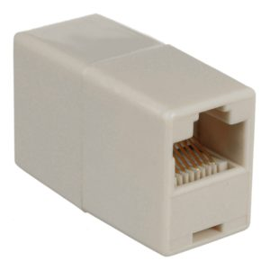 8Ware RJ45 in Line Coupler - suitable for CAT5e and CAT6 Ethernet cables