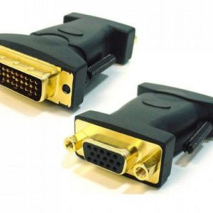 Astrotek DVI to VGA Adapter Converter 24+5 pins Male to 15 pins Female Gold Plated