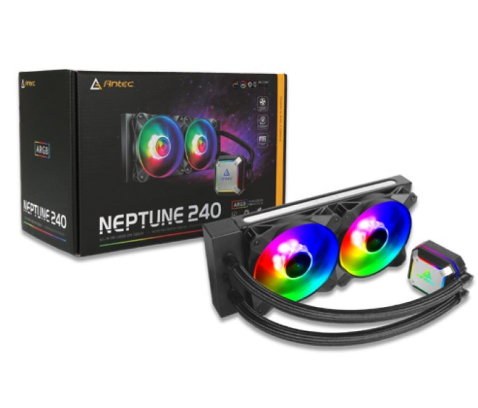 Antec Neptune 240mm ARGB Advanced Liquid CPU Cooler