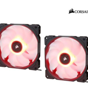 Corsair Air Flow 140mm Fan Low Noise Edition / Red LED 3 PIN - Hydraulic Bearing