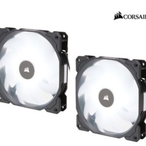 Corsair Air Flow 140mm Fan Low Noise Edition / White LED 3 PIN - Hydraulic Bearing
