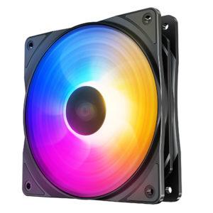 Deepcool RF120 FS LED Fan 120mm Preset Purple/Blue/Orange LED Combination