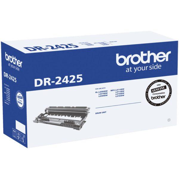 Brother DR-2425 Mono Laser Drum- Standard Cartridge - HL-L2350DW/L2375DW/2395DW/MFC-L2710DW/2713DW/2730DW/2750DW- up to 12