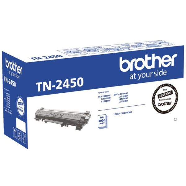 Brother TN-2450 Mono Laser Toner- Standard