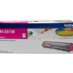 Brother TN-251M Colour Laser Toner-Magenta