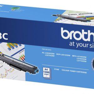 Brother TN-253C Cyan Toner Cartridge to Suit -  HL-3230CDW/3270CDW/DCP-L3015CDW/MFC-L3745CDW/L3750CDW/L3770CDW (1