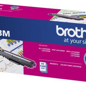 Brother TN-253M Magenta Toner Cartridge to Suit -  HL-3230CDW/3270CDW/DCP-L3015CDW/MFC-L3745CDW/L3750CDW/L3770CDW (1