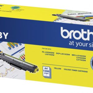Brother TN-253Y Yellow Toner Cartridge to Suit -  HL-3230CDW/3270CDW/DCP-L3015CDW/MFC-L3745CDW/L3750CDW/L3770CDW (1