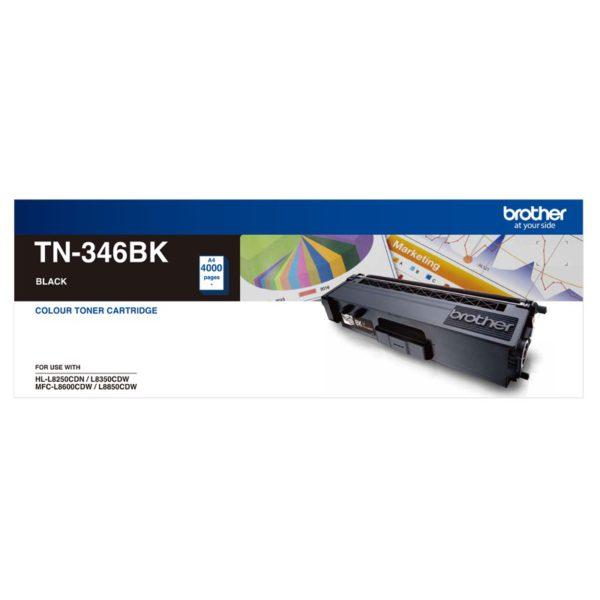 Brother TN-346BK High Yield Black Toner