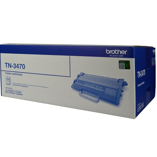 Brother TN-3470 Mono Laser Toner - High Yield upto 12000 Pages- L6200DW