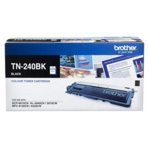 Brother TN-240BK Colour Laser Toner- Black