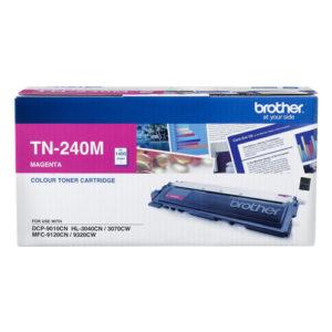 Brother TN-240M Colour Laser Toner- Magenta