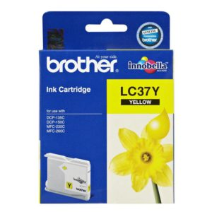 Brother LC-37Y Yellow Ink Cartridge- to suit DCP-135C/150C