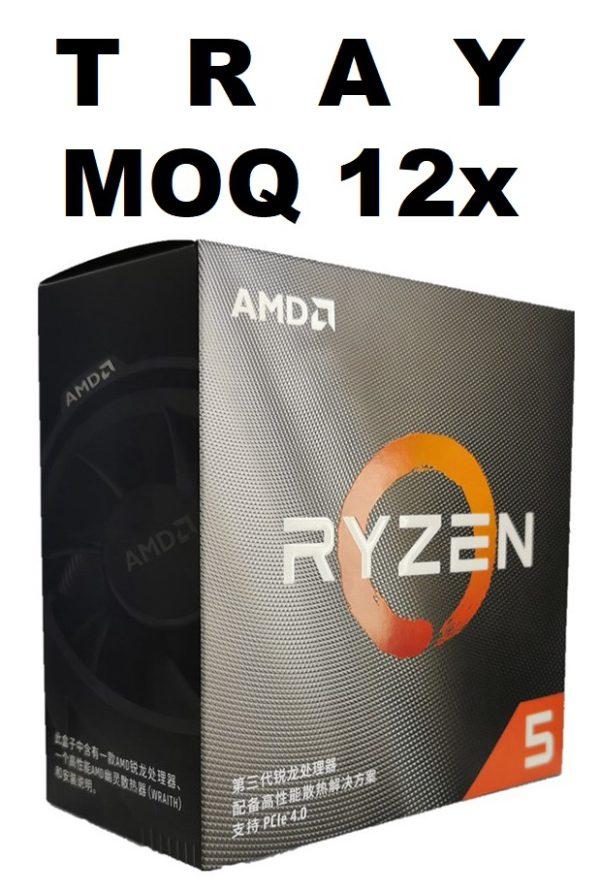 (MOQ 12x If Not Installed On MBs) AMD Ryzen 5 2600X