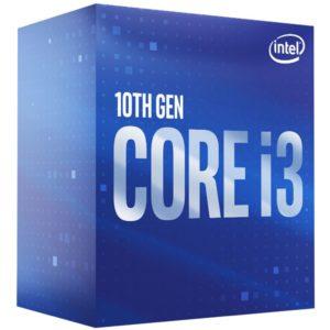 Intel Core i3-10100 CPU 3.6GHz (4.3GHz Turbo) LGA1200 10th Gen 4-Cores 8-Threads 6MB 65W UHD Graphic 630 Retail Box 3yrs Comet Lake