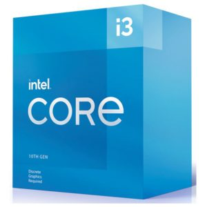 New Intel i3-10105F CPU 3.7GHz (4.4GHz Turbo) LGA1200 10th Gen 4-Cores 8-Threads 6MB 65W Graphic Card Required Box 3yrs Comet Lake Refresh