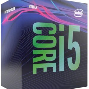 Intel Core i5-9400F 2.9GHz (4.1GHz Turbo) LGA1151 9th Gen 6-Cores 6-Threads 9MB 8GT/s 65W Dedicated Graphic Required Retal Box 3yrs Coffee Lake