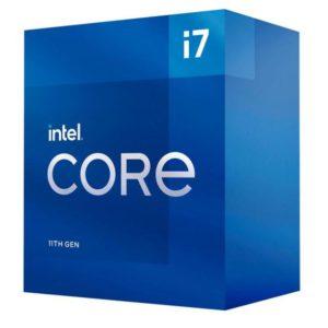 New Intel i7-11700 CPU 2.5GHz (4.9GHz Turbo) 11th Gen LGA1200 8-Cores 16-Threads 16MB 65W UHD Graphics 750 Retail Box 3yrs Rocket Lake