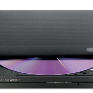 LG GP50NW40 Super-Multi Portable DVD Rewriter 8x DVD-R Writing Speed.TV Connectivity. M-DISC Support. Silent Play - Black (LS)