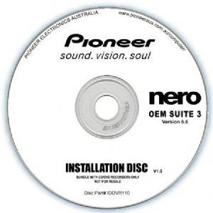 Pioneer Software Nero Suite 3 OEM Version 6.6 - Play Edit Burn & Share Blu-ray & 3D contents - PowerDVD10 InstantBurn5.0 Power2Go8.0 PowerProducer5.5