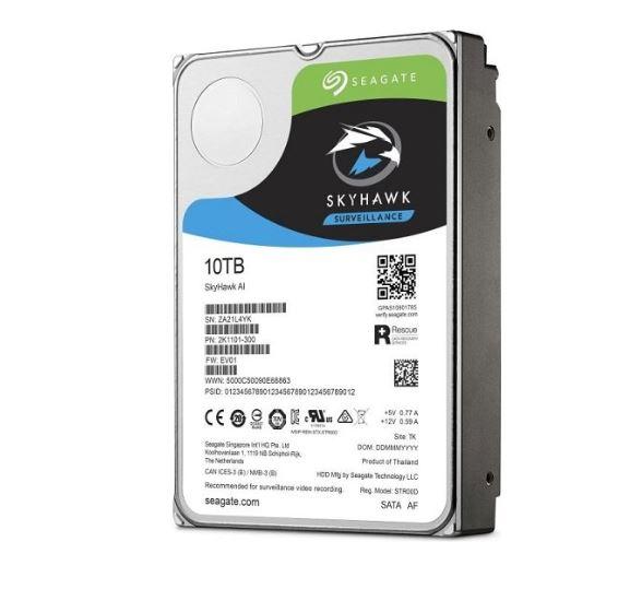 Seagate 10TB 3.5' SkyHawk Surveillance AI
