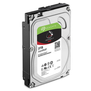 Seagate 3TB 3.5' IronWolf NAS 5900RPM SATA3 6Gb/s 64MB HDD. 3 Years Warranty