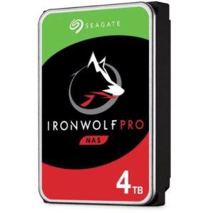 Seagate 4TB 3.5' IronWolf Pro NAS  SATA3 NAS 24x7 Performance HDD (ST4000NE001) 5 Years Warranty